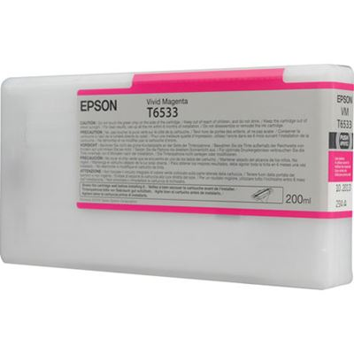 Picture of EPSON UltraChrome HDR Ink for Stylus Pro 4900 - Vivid Magenta (200 mL)