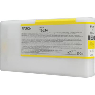 Picture of EPSON UltraChrome HDR Ink for Stylus Pro 4900 - Yellow (200 mL)