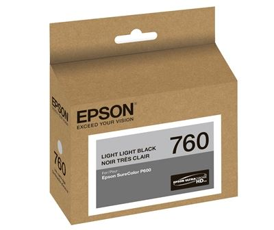 Picture of EPSON 760 UltraChrome HD Ink for SureColor P600 - Light Light Black (25.9 ml)