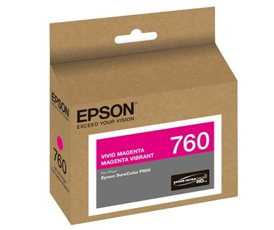 Picture of EPSON 760 UltraChrome HD Ink for SureColor P600 - Vivid Magenta  (25.9 ml)