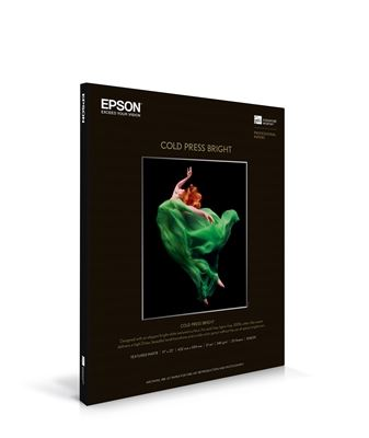 Picture of EPSON Cold Press Bright White- 8.5in x 11in