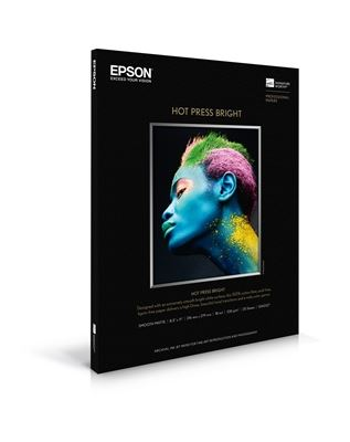 Picture of EPSON Hot Press Bright White- 17in x 22in