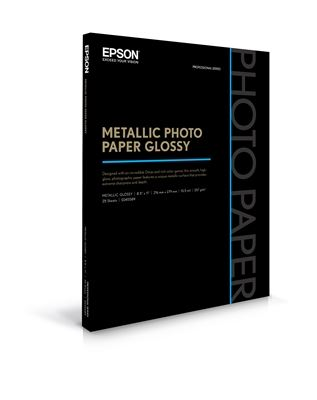 Picture of EPSON Metallic Photo Paper Glossy- 8.5in x 11in