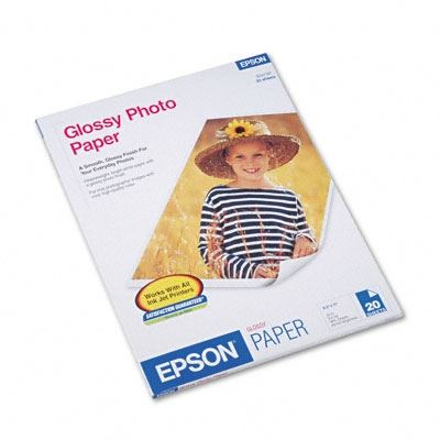 Picture of EPSON Photo Paper- 8.5in x 11 in