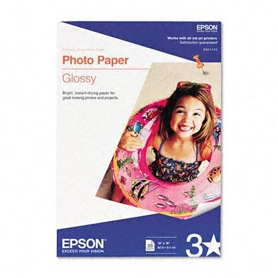 Picture of EPSON Photo Paper- 13in x 19 in