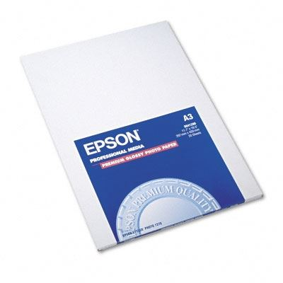 Picture of EPSON Premium Glossy Photo Paper (250)- 11.7in x 16.5in