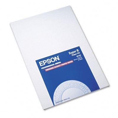 Picture of EPSON Premium Glossy Photo Paper (250)- 13in x 19in