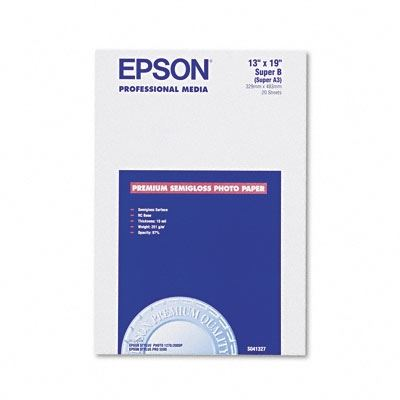 Picture of EPSON Premium Semi-Gloss Photo Paper (250)