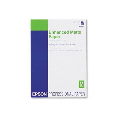 Picture of EPSON Ultra Premium Presentation Paper Matte - 11.7in x 16.5in, 50-Sheets