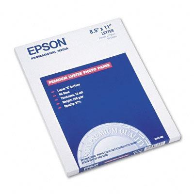 EPSON Ultra Premium Photo Paper Luster- 8 3in x 11 7in