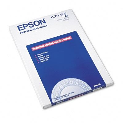 Picture of EPSON Ultra Premium Photo Paper Luster- 11.7in x 16.5in