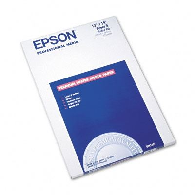 Picture of EPSON Ultra Premium Photo Paper Luster- 13in x 19in