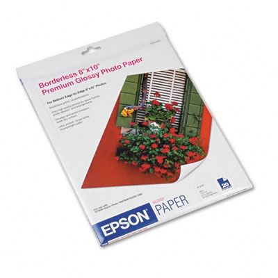 Picture of EPSON Premium Glossy Photo Paper (250)- 8in x 10in
