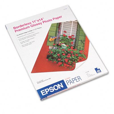 Picture of EPSON Premium Glossy Photo Paper (250)- 11in x 14in