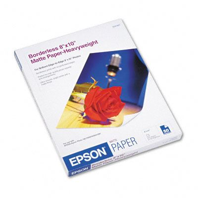 Picture of EPSON Premium Presentation Paper Matte - 8in x 10in