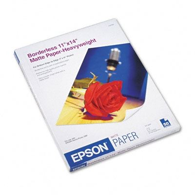 Picture of EPSON Premium Presentation Paper Matte - 11in x 14in