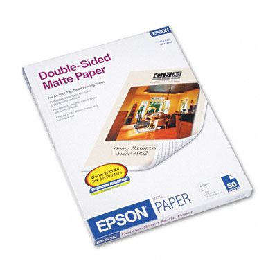 Picture of EPSON Premium Presentation Paper Matte, Double-sided- 8.5in x 11in