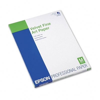 Picture of EPSON Velvet Fine Art Paper - 8.5in x 11in