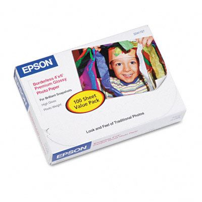 Picture of EPSON Premium Glossy Photo Paper (250)- 4in x 6in