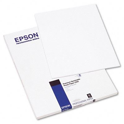 Picture of EPSON Premium Semi-Matte Photo Paper (260)