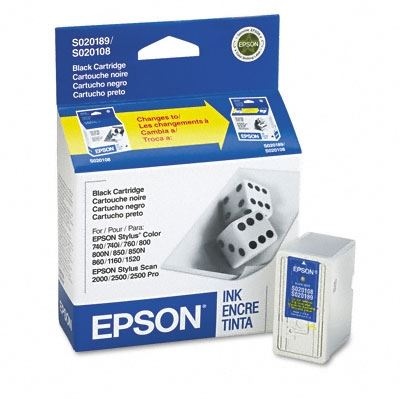 Picture of EPSON Stylus Color Black Ink