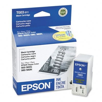 Picture of EPSON Stylus Color 900/980 Black Ink Cartridge