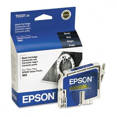 Picture of EPSON Stylus Photo 960 Black Ink Cartridge