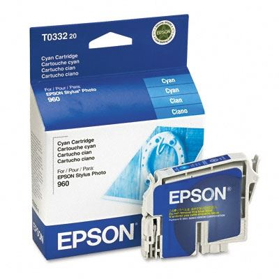 Picture of EPSON Stylus Photo 960 Cyan Ink Cartridge