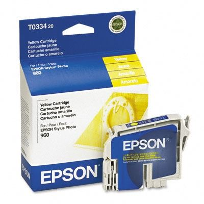 Picture of EPSON Stylus Photo 960 Yellow Ink Cartridge