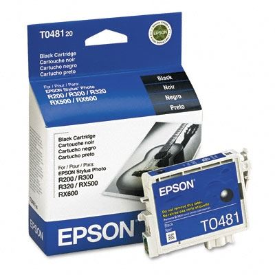 Picture of EPSON Stylus Photo R300/RX500 Black Ink Cartridge