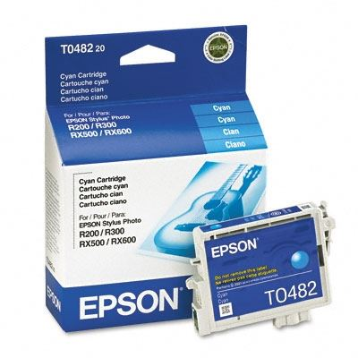 Picture of EPSON Stylus Photo R300/RX500 Cyan Ink Cartridge