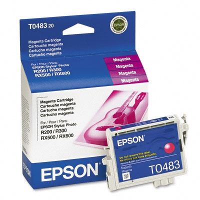 Picture of EPSON Stylus Photo R300/RX500 Magenta Ink Cartridge