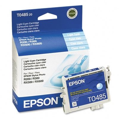 Picture of EPSON Stylus Photo R300/RX500 Light Cyan Ink Cartridge