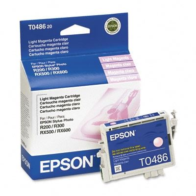 Picture of EPSON Stylus Photo R300/RX500 Light Magenta Ink Cartridge
