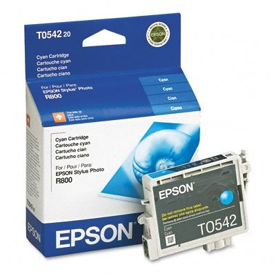 Picture of EPSON Stylus Photo R800/R1800 Cyan Ink Cartridge