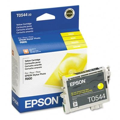 Picture of EPSON Stylus Photo R800/R1800 Yellow Ink Cartridge