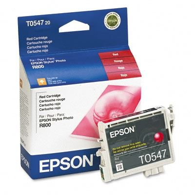 Picture of EPSON Stylus Photo R800/R1800 Red Ink Cartridge