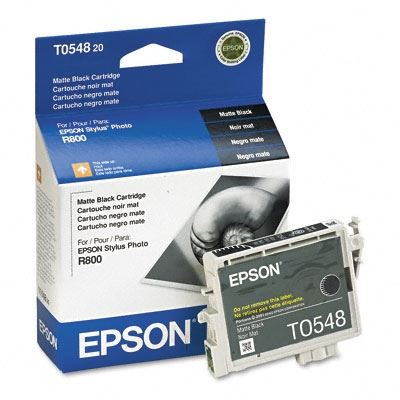 Picture of EPSON Stylus Photo R800/R1800 Matte Black Ink Cartridge