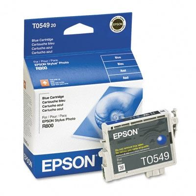 Picture of EPSON Stylus Photo R800/R1800 Blue Ink Cartridge