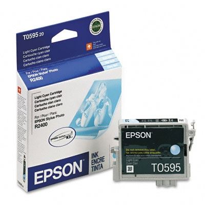 Picture of EPSON Stylus Photo R2400 Light Cyan Ink Cartridge