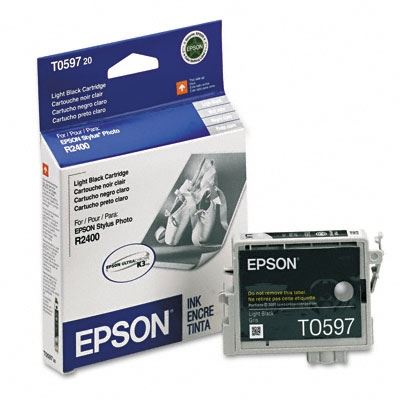 Picture of EPSON Stylus Photo R2400 Light Black Ink Cartridge