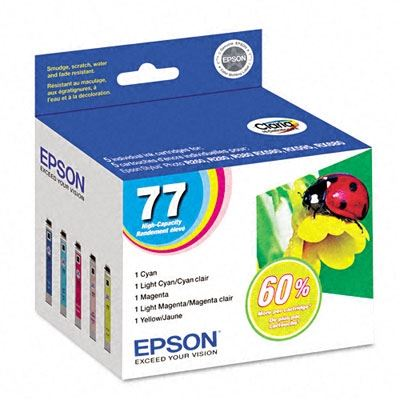 Picture of EPSON Stylus Photo R380 Multipack Color Ink Cartridges