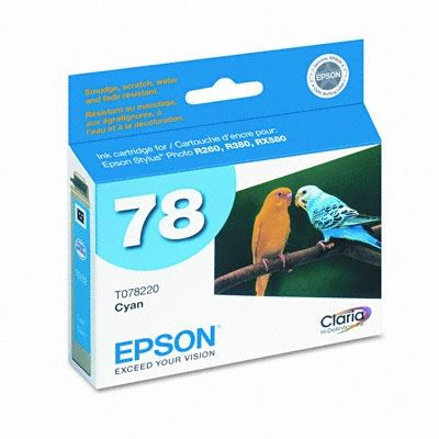 Picture of EPSON Stylus Photo R380 Cyan Ink Cartridge