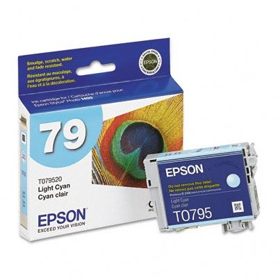 EPSON Stylus Photo 1400 Light Cyan Ink Cartridge- LexJet