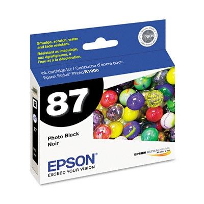 Picture of EPSON Stylus Photo R1900 Photo Black Ink Cartridge