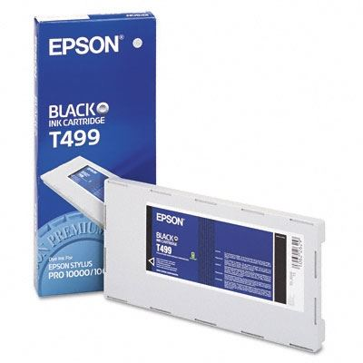 Picture of EPSON Stylus Pro 10000/10600 Black Photo Dye Ink Cartridge