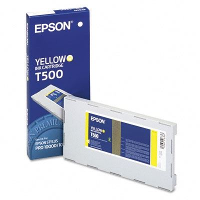Picture of EPSON Stylus Pro 10000/10600 Yellow Photo Dye Ink Cartridge