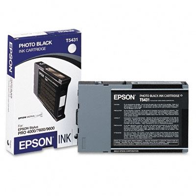 Picture of EPSON Stylus Pro 4000/9600/7600 Photo Black UltraChrome Ink Cartridge - 110 mL