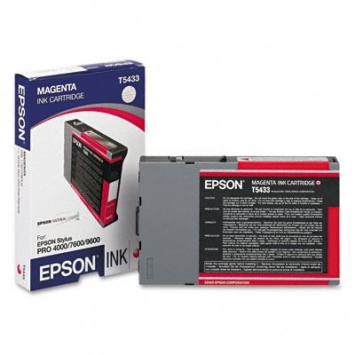 Picture of EPSON Stylus Pro 4000/9600/7600 Magenta UltraChrome Ink Cartridge - 110 mL