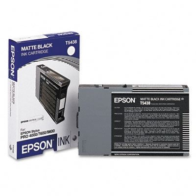 Picture of EPSON Stylus Pro 4000/9600/7600 Matte Black UltraChrome Ink Cartridge - 110 mL